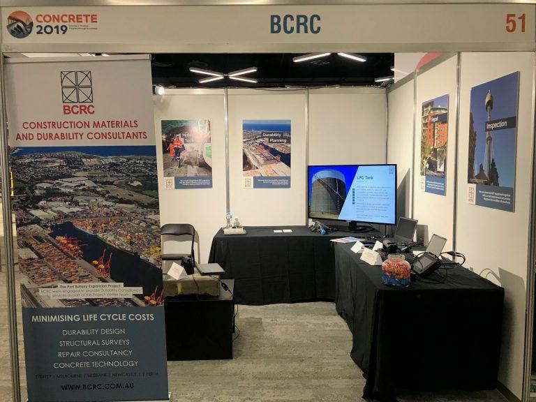 BCRC at Concrete 2019